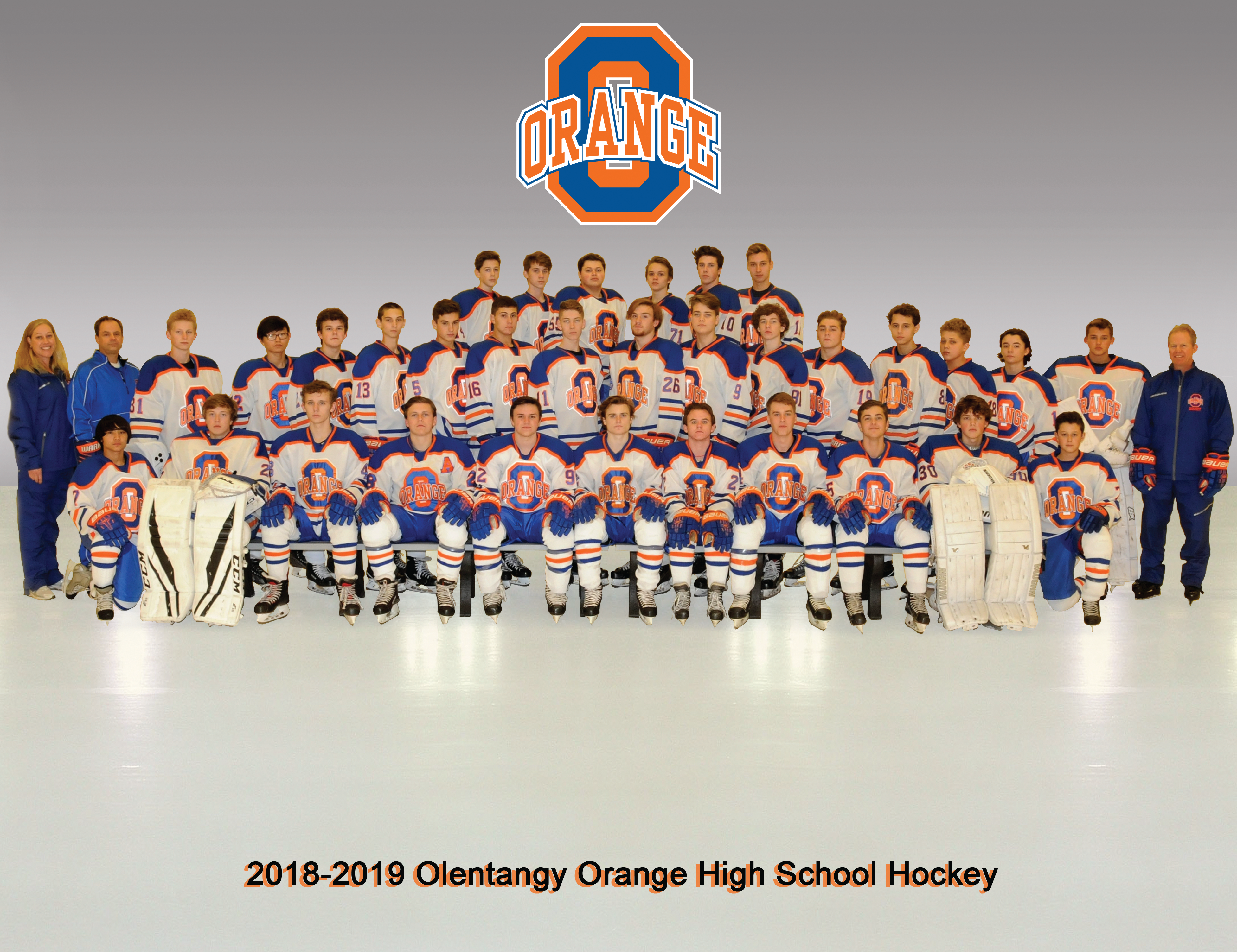 Ice Hockey Orange Pioneer Athletics